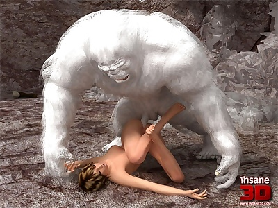 Insane3D- Nasty Bigfoot