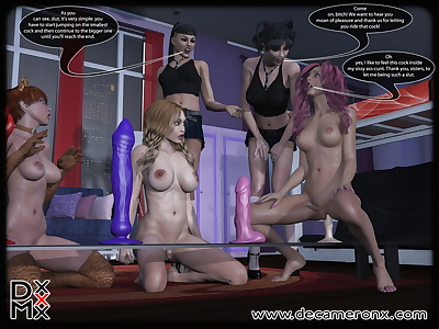 Hypno Girls Ten - Insatiable..