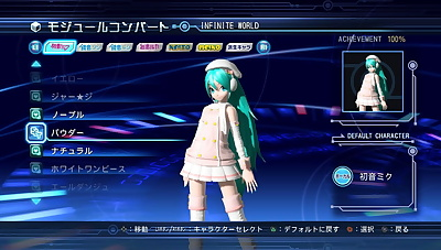 Project Diva Arcade undies -..